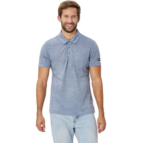 super.natural Comfort Poloshirt Men Light Tempest 3D